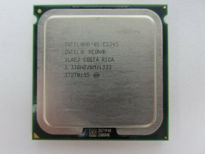 Intel Xeon Quad Core SLAEJ/ SLAC5 Processor 2.33GHz E5345 8MB LGA771 CPU1/2