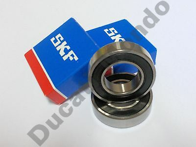 SKF front wheel bearings roller ball pair set Ducati Aprilia Moto Guzzi Cagiva