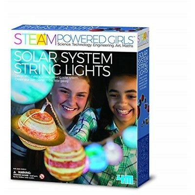 Steam Powered Kids Solar System String Lights