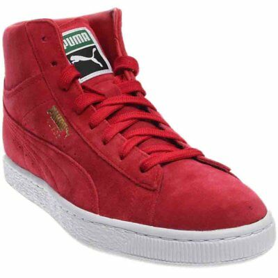 aea70208b278 PUMA SUEDE CLASSIC Mid Sneakers Red- Mens- Size 9.5 D -  24.95 ...