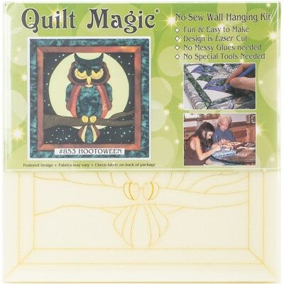 Hootoween Quilt Magic Kit-hootoween