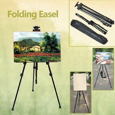 New Folding Painting Easel Artist Telescopic Field Studio Tripod Display Stand