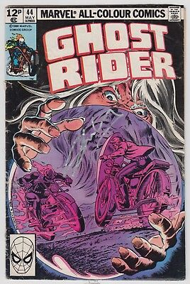 Ghost Rider # 44  Signed Stan Lee  Uk 2014  1St Print  Pence Variant 1980