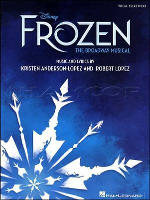 Disney Frozen The Broadyway Musical Vocal Selections Sheet Music Book Let It Go