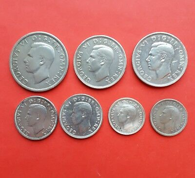 George V1 Silver coins.Metal detecting finds.