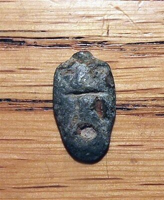 China - Ancient - C. 400-220 Bc - 'ant Nose/ghostface' Money - 1 Zhu  H1.4  Tckt