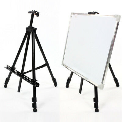 Telescopic Folding Artist Field Studio Painting Easel Tripod Display Stand
