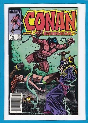 "Conan The Barbarian #177_December 1985_Near Mint Minus_""well Of Souls""!"