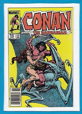 Conan The Barbarian #176_November 1985_Very Fine/near Mint_Marvel Comics!