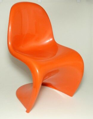 Hermann Miller Verner Panton Chair orange Original von 1975