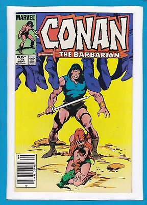 "Conan The Barbarian #174_September 1985_Near Mint Minus_""children Of The Night""!"