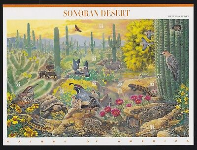 US 3293//4474 Nature of America COMPLETE SET 1-12 Mint Sheets NH Self-Adhesive