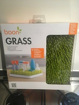 Boon Green Grass Countertop Drying Rack New in Box