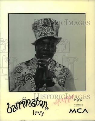 1995 Press Photo Barrington Levy, Jamaican Musical Artist - nop48917