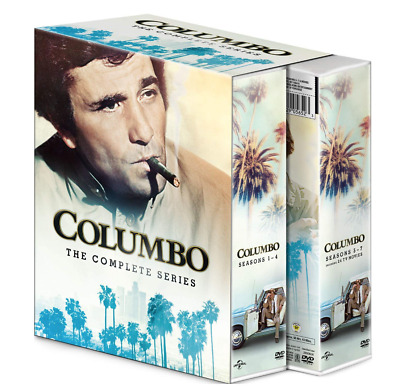 Brand New Columbo The Complete Series Seasons 1-7 plus 24 TV movies DVD FreeShip