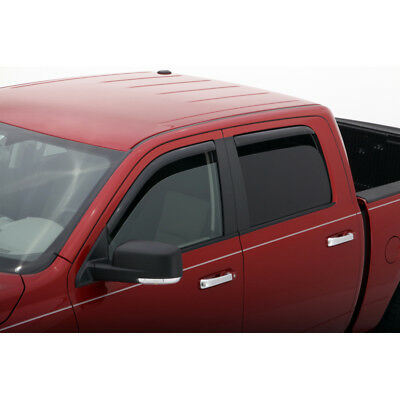 AVS 194407 In-Channel Window Deflector Ventvisor 4pc for 2005-18 Nissan Frontier