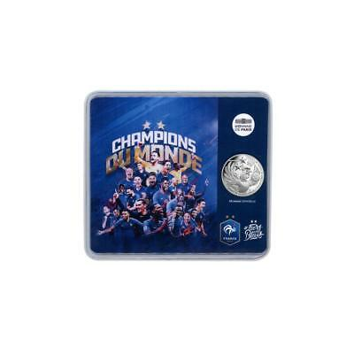 #Rm# Blister 10 Euro Commemorative France 2018 - World Champions