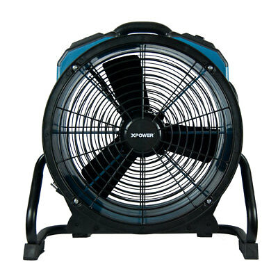 Xpower X-47Atr Pro 3,600Cfm Axial Air Mover/dryer/fan With Timer & Power Outlets