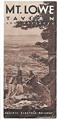 Mt. Lowe Tavern and Cottages Los Angeles LA Pacific Electric Railway 1930 Photos