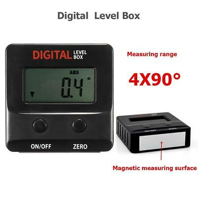 Digital LCD Protractor Angle Finder Bevel Box Inclinometer Tool Meter Magnetic