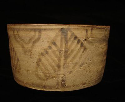 AMAZING!   ANCIENT PAINTED BOWL-JUG! FROM EARLY BRONZE AGE! 3000BC~~~no reserve