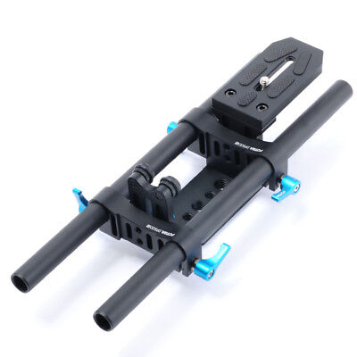 Fotga DP500II 15mm Rail Rod Baseplate Support System For Camera Follow Focus
