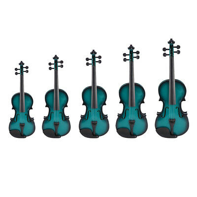 Acoustic Violin Kit Basswood with Gig Bag Bow Rosin for Students Kids Gift