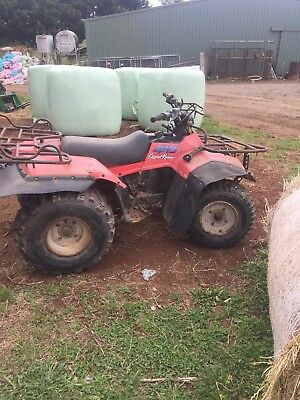 Suzuki Quadrunner Quad Bike
