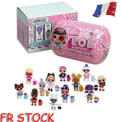 1PC Nouveau LOL Surprise série Spy Eye Under Wraps Capsule Poupée Grande Doll
