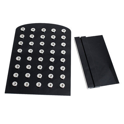 18mm snap button display stand Goodquality Acylic Board Snap jewelry Diaplay