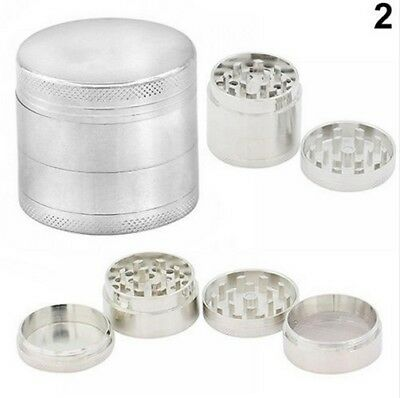 1PC 4Layer Metal Tobacco Crusher Smoke Herbal Herb Grinder Hand Muller