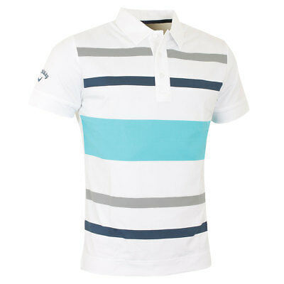 35dd8ebf84c3 Callaways Golf pour Hommes X Gamme Bloque Rugby Polo à Rayures 64% Off