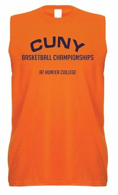 Unisex Orange Beastie Boys CUNY Vest Basketball Music Hip Hop