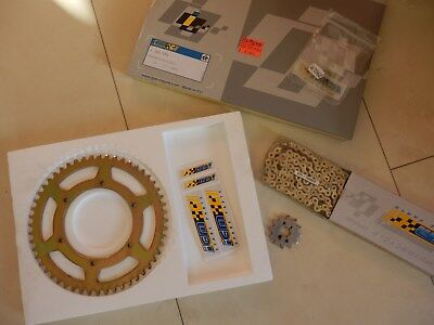 IGM Kettensatz GOLD DERBI GPR 50 Racing 2004-2006 chain sprocket kit Z214