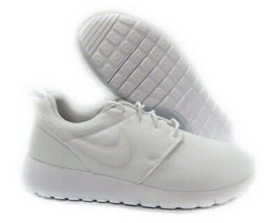 f4dbad7d9dff9 599729-102   NIKE Roshe One (GS) YOUTH BIG KIDS Shoe!! WHITE WHITE ...
