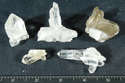 A BIG Lot of Small 100% Natural Quartz Crystal Clusters! From Brazil 111gr
