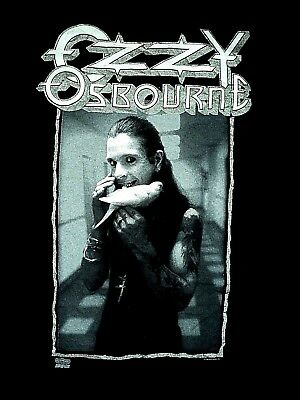 * OZZY OSBOURNE Last Bloody Shows * 1992 Vintage BRAND NEW T Shirt L Original
