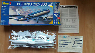 Wow! Boing 767-300 mit KLM-Decals v. Revell 1:144!