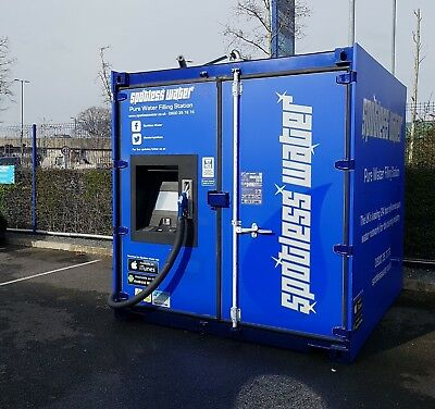 Water Fed Pole, Window Cleaning, Pure Water Filling Station - Southampton