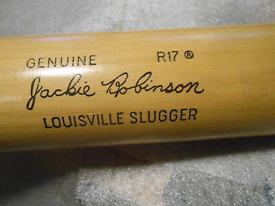 Unused Louisville Slugger Genuine R17 Jackie Robinson Baseball Bat JR3
