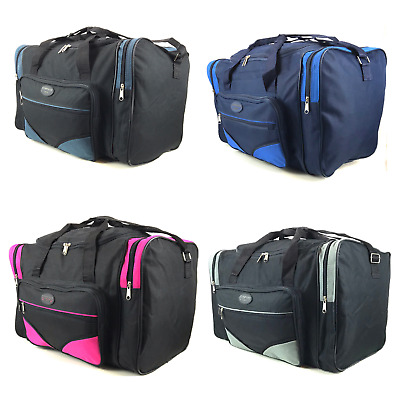 Mens Womens Gym Sports Holdall Overnight Weekend Travel Medium Large Bag 40 Ltrs