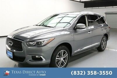 2017 Infiniti QX60  Texas Direct Auto 2017 Used 3.5L V6 24V Automatic AWD SUV Premium Bose
