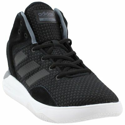 finest selection d3600 ddb4b adidas CloudFoam REVIVAL MID Basketball Shoes - Black - Mens