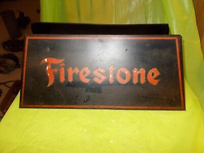 Circa 1940-50's FIRESTONE ORIGINAL ADVERTISING TIRE DISPLAY RACK!! #A