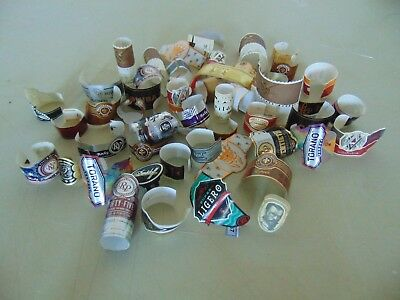Cigar Bands Lot of 50, Bands Only