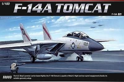 [Free Shipping] New ACADEMY 12705 1/100 F-14A TOMCAT #12705