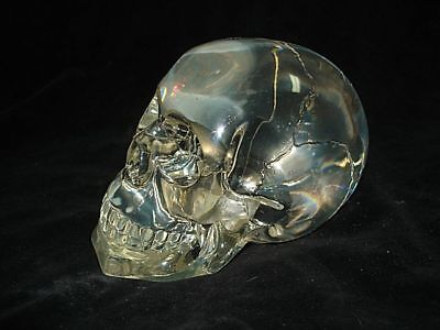 Amazing Large Mysterious Crystal Skull!  Wow!