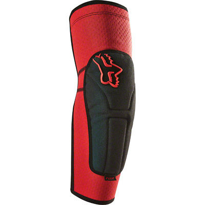 fox racing red launch enduro mtb knee pads guards downhill trail dh
