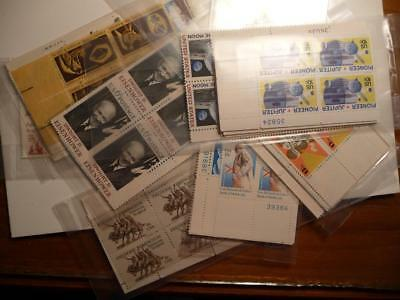 US Discount Postage Plate Block 0f 4, 6-20 Cent (MNH) FV $25.43 SKU#14155