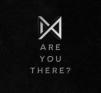 MONSTA X - ARE YOU THERE? [II ver.] CD+Folded Poster+Free Gift+Tracking no.